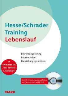 Jürgen Hesse: Training Lebenslauf, Buch