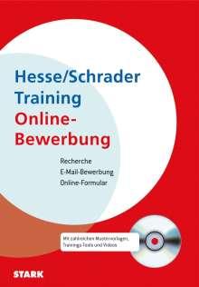 Jürgen Hesse: Training Online Bewerbung, m. CD-ROM, Buch