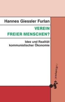 Hannes Giessler Furlan: Verein freier Menschen?, Buch
