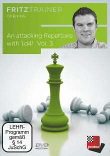 Nicholas Pert: An attacking Repertoire with 1.d4 - Vol. 3, DVD-ROM
