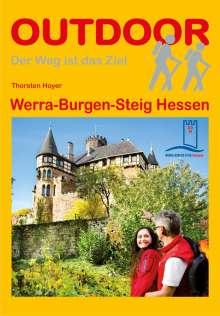 Thorsten Hoyer: Hessen: Werra-Burgen-Steig, Buch