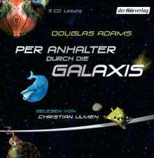 Douglas Adams: Per Anhalter durch die Galaxis, 5 CDs