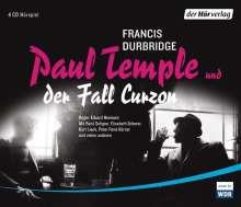 Francis Durbridge: Paul Temple und der Fall Curzon, 3 CDs