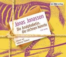 Jonas Jonasson: Die Analphabetin, die rechnen konnte, 6 CDs