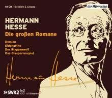 Hermann Hesse: Die großen Romane, 14 CDs
