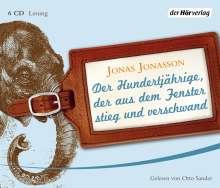 Jonas Jonasson: Der Hundertjährige, der aus dem Fenster stieg und verschwand, 6 CDs