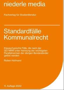 Ruben Hofmann: Standardfälle Kommunalrecht, Buch