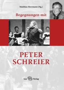 Begegnungen mit Peter Schreier, Buch