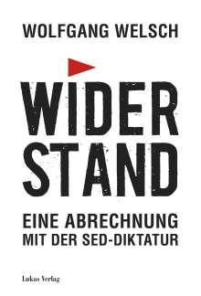 Wolfgang Welsch: Widerstand, Buch