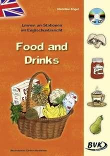 Christine Altgen: Lernen an Stationen im Englischunterricht: Food and Drinks (inkl. CD), Buch