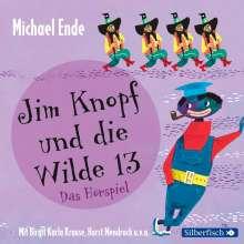 Michael Ende: Jim Knopf und die Wilde 13 - Das Hörspiel, 2 CDs