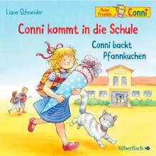 Liane Schneider: Conni kommt in die Schule / Conni backt Pfannkuchen (Meine Freundin Conni - ab 3 ), CD