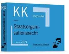 Ralf Altevers: Karteikarten Staatsorganisationsrecht, Buch