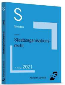 Ralf Altevers: Skript Staatsorganisationsrecht, Buch