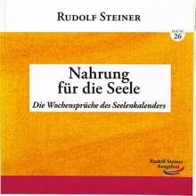 Rudolf Steiner: Nahrung für die Seele, Buch
