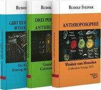 Steiner Rudolf: Anthroposophie - Die drei Perspektiven der Anthroposophie - Gibt es eine Geisteswissenschaft. 3 Taschenbücher ( Set), Buch