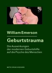 William Emerson: Geburtstrauma, Buch