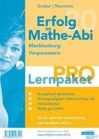 Helmut Gruber: Erfolg im Mathe-Abi 2020 Lernpaket 'Pro' Mecklenburg-Vorpommern, 4 Bücher