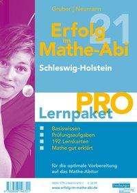 Helmut Gruber: Erfolg im Mathe-Abi 2021 Lernpaket 'Pro' Schleswig-Holstein, 4 Bücher