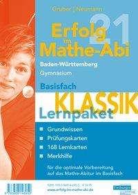 Helmut Gruber: Erfolg im Mathe-Abi 2021 Lernpaket Basisfach 'Klassik' Baden-Württemberg Gymnasium, 4 Bücher