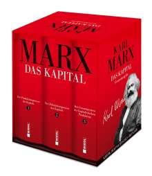 Karl Marx: Das Kapital (Vollständige Gesamtausgabe), 3 Bücher