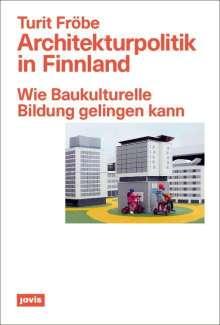 Turit Fröbe: Architekturpolitik in Finnland, Buch