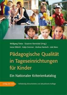 Irene Dittrich: Pädagogische Qualität in Tageseinrichtungen für Kinder, Buch