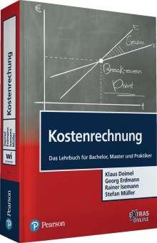 Klaus Deimel: Kostenrechnung, Buch