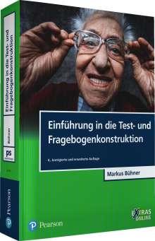 Markus Bühner: Einführung in die Test- und Fragebogenkonstruktion, Buch