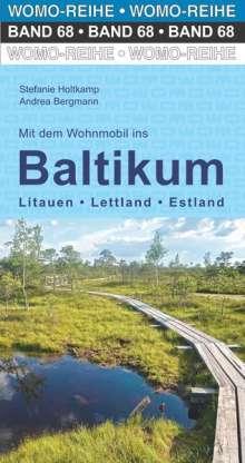 Stefanie Holtkamp: Mit dem Wohnmobil ins Baltikum, Buch
