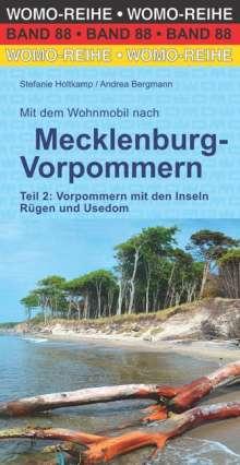 Stefanie Holtkamp: Mit dem Wohnmobil nach Mecklenburg-Vorpommern. Teil 2: Vorpommern mit den Inseln Rügen und Usedom, Buch