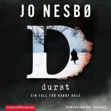 Jo Nesbø: Durst, 2 CDs