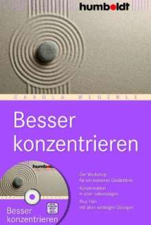 Carola Wegerle: Besser konzentrieren, Buch