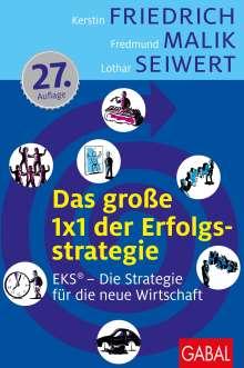 Kerstin Friedrich: Das große 1x1 der Erfolgsstrategie, Buch