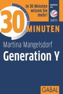 Martina Mangelsdorf: 30 Minuten Generation Y, Buch