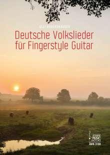 Ulli Boegershausen: Deutsche Volkslieder für Gingerstyle Guitar, Noten