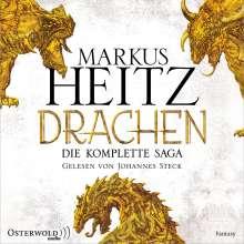 Markus Heitz: Drachen. Die komplette Saga (Die Drachen-Reihe ), 9 CDs