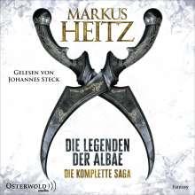 Markus Heitz: Die Legenden der Albae. Die komplette Saga (Die Legenden der Albae), 15 CDs