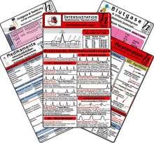 Intensiv-Station Karten-Set - Analgesie & Sedierung, Blutgase & Differentialdiagnose, Herzrhythmusstörungen, Inkompatibilitäten intravenöser Medikamente, Reanimation, Buch