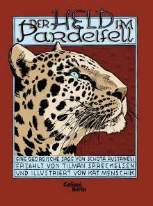 Tilman Spreckelsen: Der Held im Pardelfell, Buch