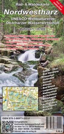 Nordwestharz - Weltkulturerbe Oberharzer Wasserwirtschaft 1: 25 000, Diverse