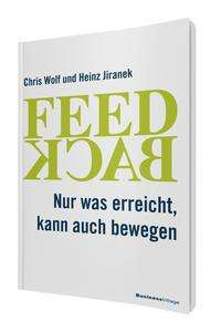 Chris Wolf: Feedback, Buch