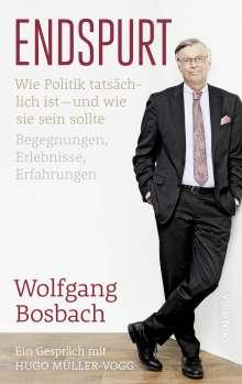 Wolfgang Bosbach: Endspurt, Buch