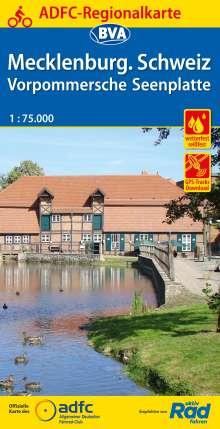 ADFC-Regionalkarte Mecklenburgische Schweiz Vorpommersche Seenplatte 1:75.000, Diverse