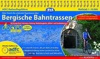 Peter Flesch: ADFC-Radausflugsführer Bergische Bahntrassen 1:50.000 praktische Spiralbindung, reiß- und wetterfest, GPS-Track Download, Diverse
