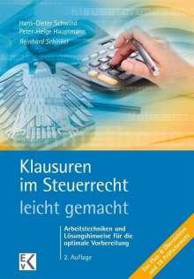 Reinhard Schinkel: Klausuren im Steuerrecht - leicht gemacht, Buch
