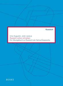 Irina Augustin: Russisch sicher schreiben, Buch