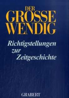Der Grosse Wendig 2, Buch