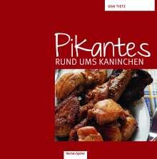 Oda Tietz: Pikantes rund ums Kaninchen, Buch