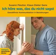 Susann Pásztor: Ich höre was, das du nicht sagst, 3 CDs